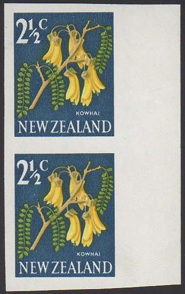New Zealand Stamp Errors Pre 1970