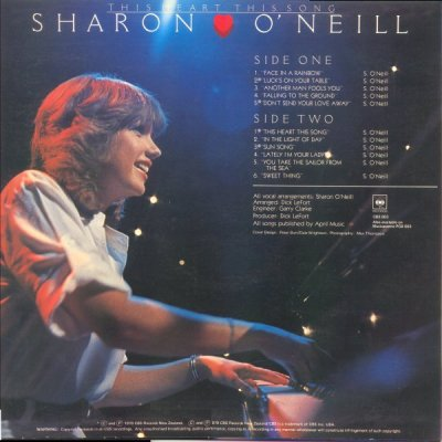 Sharon O'Neill Luck's On Your Table