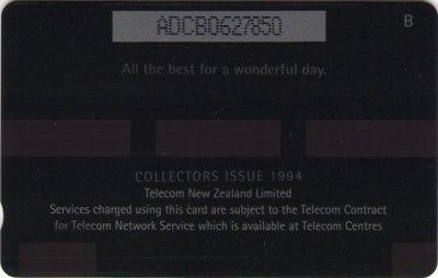 New Zealand Phonecards Happy Birthday
