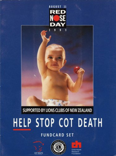 new zealand phonecards red nose day 1995