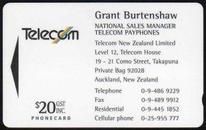 New zealand phonecards telecom business cards 1994 telecom business cards 1994 reheart Gallery