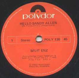 Split Enz - Matinee Idyll